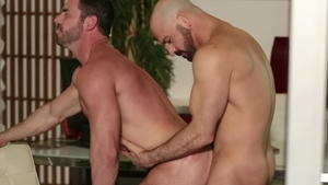 IconMale: Mature Billy Santoro ass to mouth