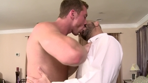 IconMale: Jock Connor Maguire and hairy Adam Russo fucked anal