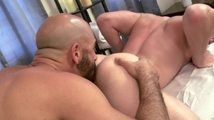 IconMale - Nailed rough alongside hairy jock Adam Russo in HD