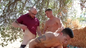 Next Door Buddies: European Spencer Laval anal sex