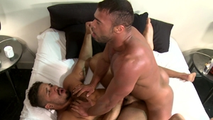 Extra Big Dicks - Couple Trey Turner playing with Micah Brandt