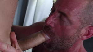 ExtraBigDicks - Hairy Valentin Petrov masturbating throat fuck