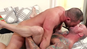 MenOver30 - Couple Jacob Woods bareback rimming
