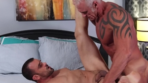 MenOver30: Gay Dallas Steele helps with hard nailining