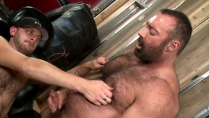 BearBack - Blond Matt Stevens have huge dick