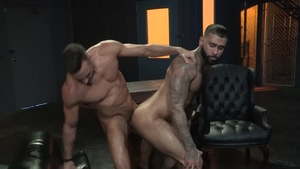 Raging Stallion - Bulge Manuel Skye masturbating