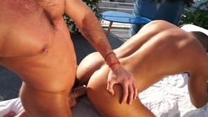 Falcon Studios: Massimo Piano as well as hairy Klein Kerr
