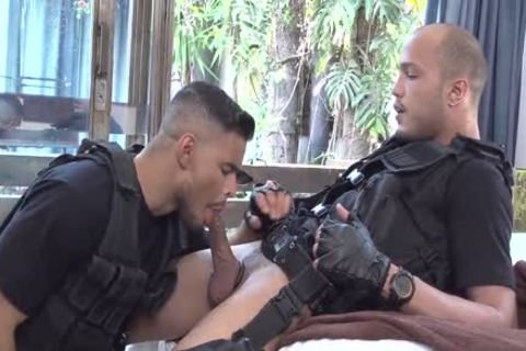 SWAT lustful Cops - Richard & Kadu