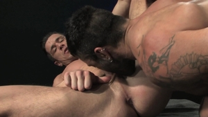 Raging Stallion - Hairy nice big dick Rogan Richards rimming