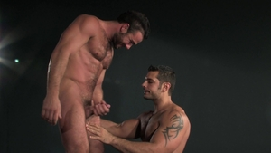 RagingStallion.com: Hairy Jessy Ares together with Marcus Ruhl